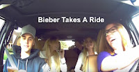 Bieber Takes A Ride image