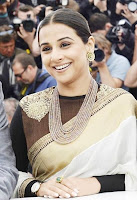 Vidya Balan during Jury Photocall at Cannes