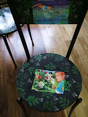 Alice in wonderland Decoupage