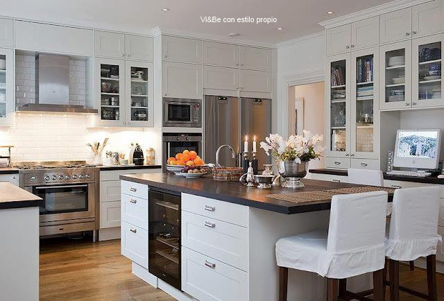 Vi be cocinas con encanto for Cocinas espectaculares fotos