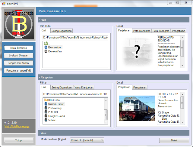 Download Train simulator indonesia
