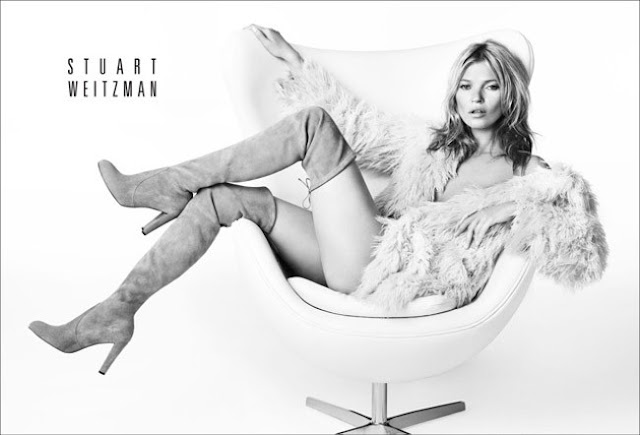 STUART WEITZMAN AND KATE MOSS
