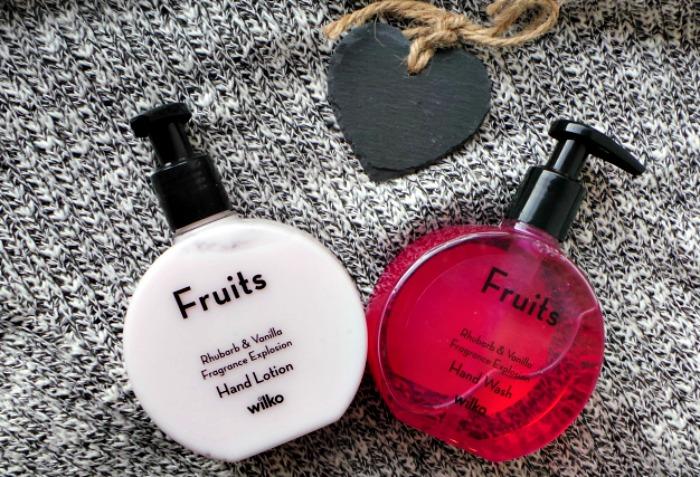 Wilko Fruits Rhubarb & Vanilla Handwash