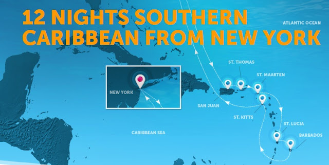12 nights southern caribbean