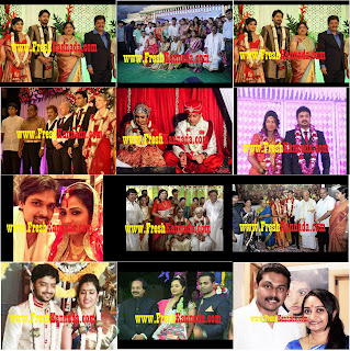 2015 Sandalwood Actors and Actress Marriage Photos