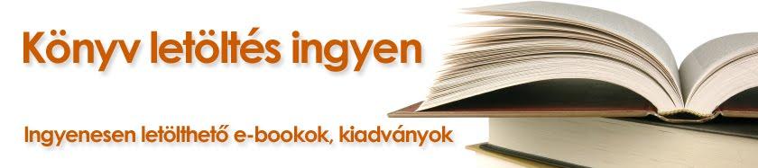 Könyv letöltés ingyen