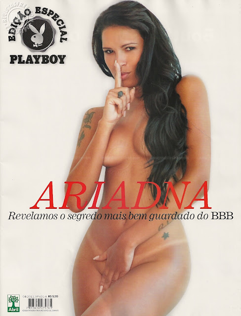 Confira as fotos e vídeo do enigma Transexual do Big Brother Brasil 11, Ariadna, capa da Playboy Especial de Abril de 2011!