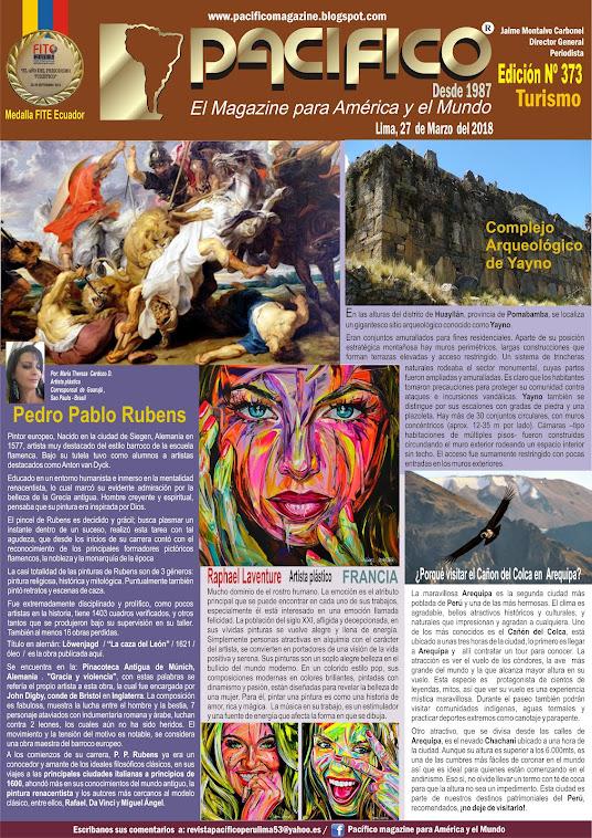 Revista Pacifico Nº 373 Turismo
