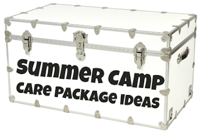While I'm Waiting...20 camp care package ideas
