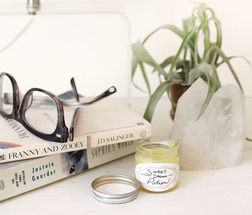 DIY Homemade Natural Sleep Salve Recipe crafted with natural lavender, tangerine, sandalwood and rosewood essential oils plus other natural diy bath and beauty recipes