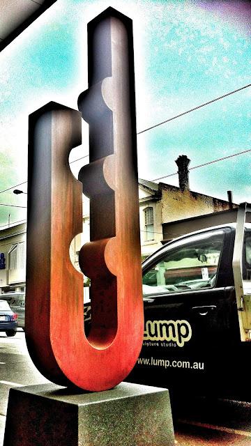 Lump Sculpture the Clasp