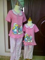 Jual Baju Tidur Grosir, Babydoll, Baju Santai Anak dan Dewasa www.bajusantai.com