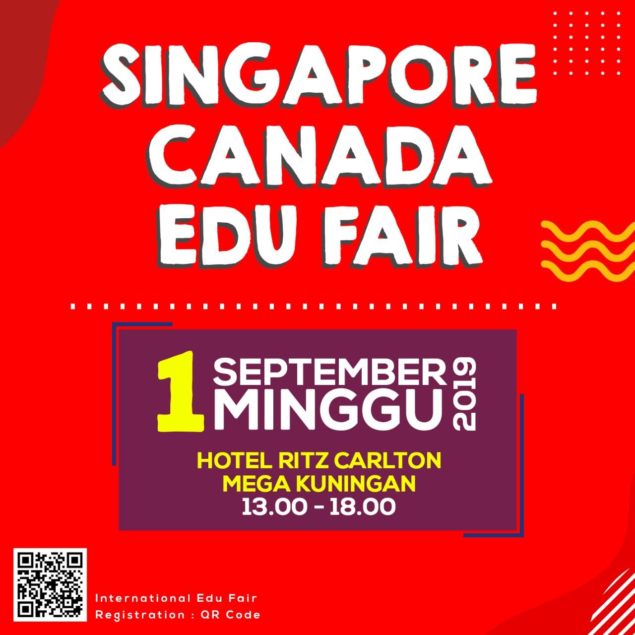 SINGAPORE CANADA EDU FAIR