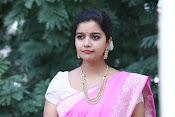 Swathi Dazzling in Pink saree-thumbnail-11