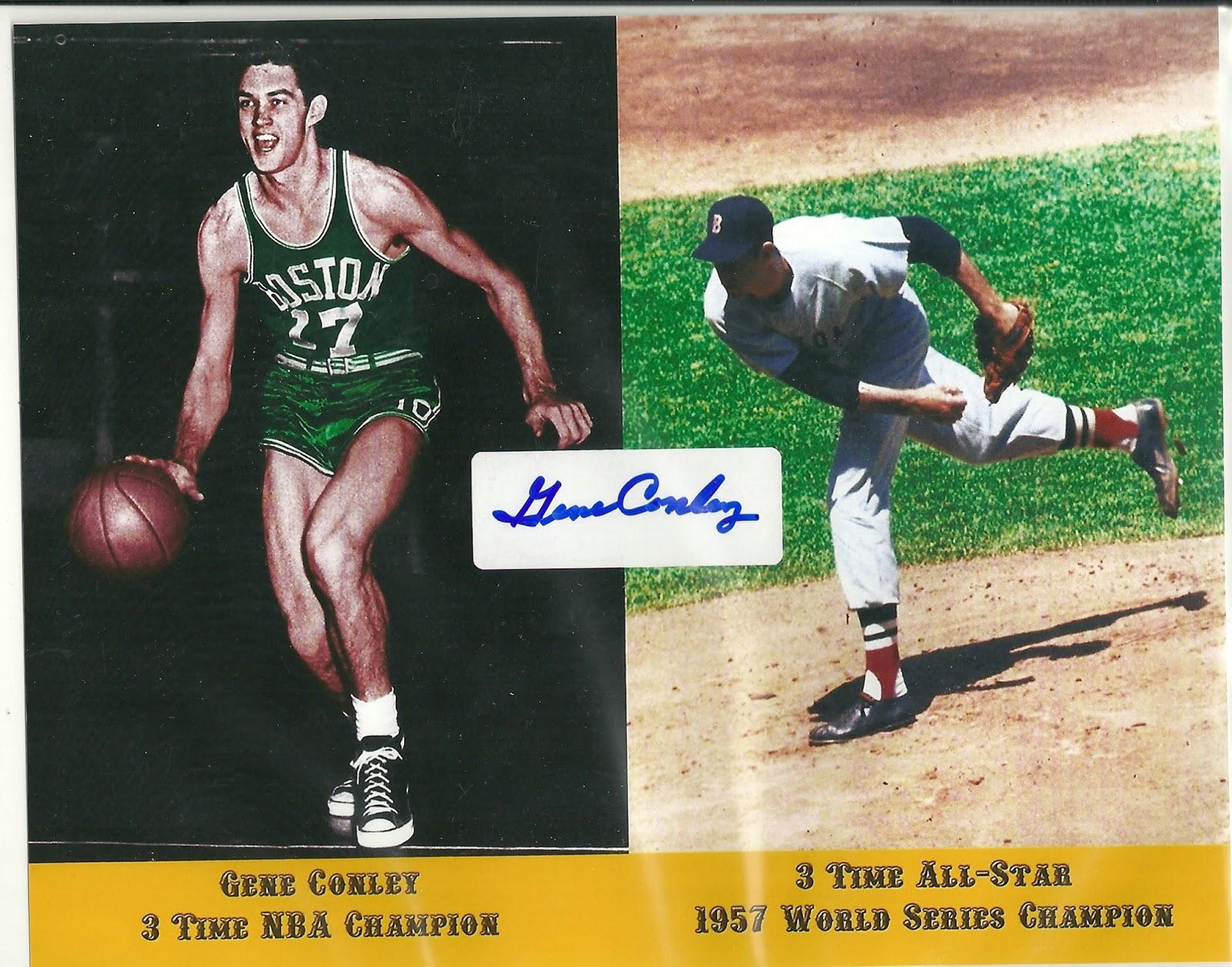Big Sports Card & Memorabilia Show Autograph Guests Gene Conley
