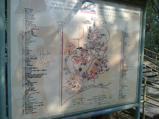 Arignar Anna Zoological Park Map