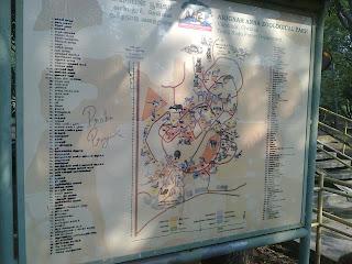 Arignar Anna Zoological Park Map