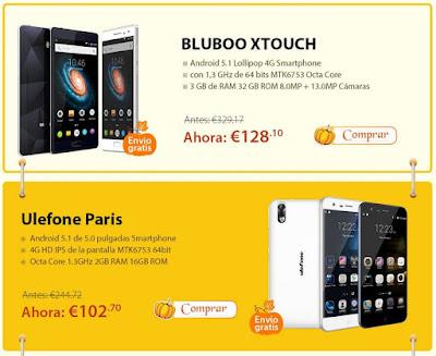 Tienes la oportunidad de conseguir smartphones a muy buen precio.