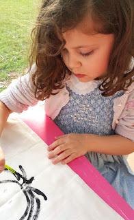 DIY: almohadón para cuarto infantil. www.soyunmix.com