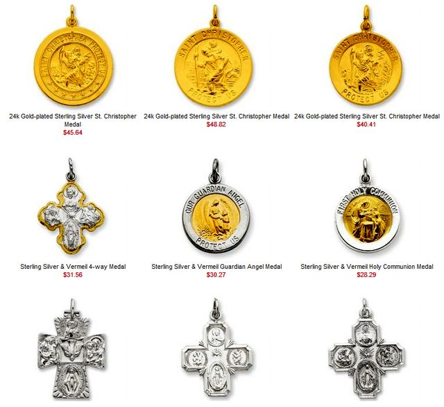 Popular Saints Pendants