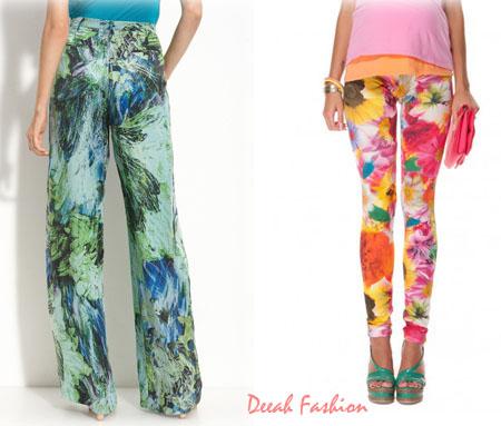 Celana Panjang Motif Trend Fashion Terbaru