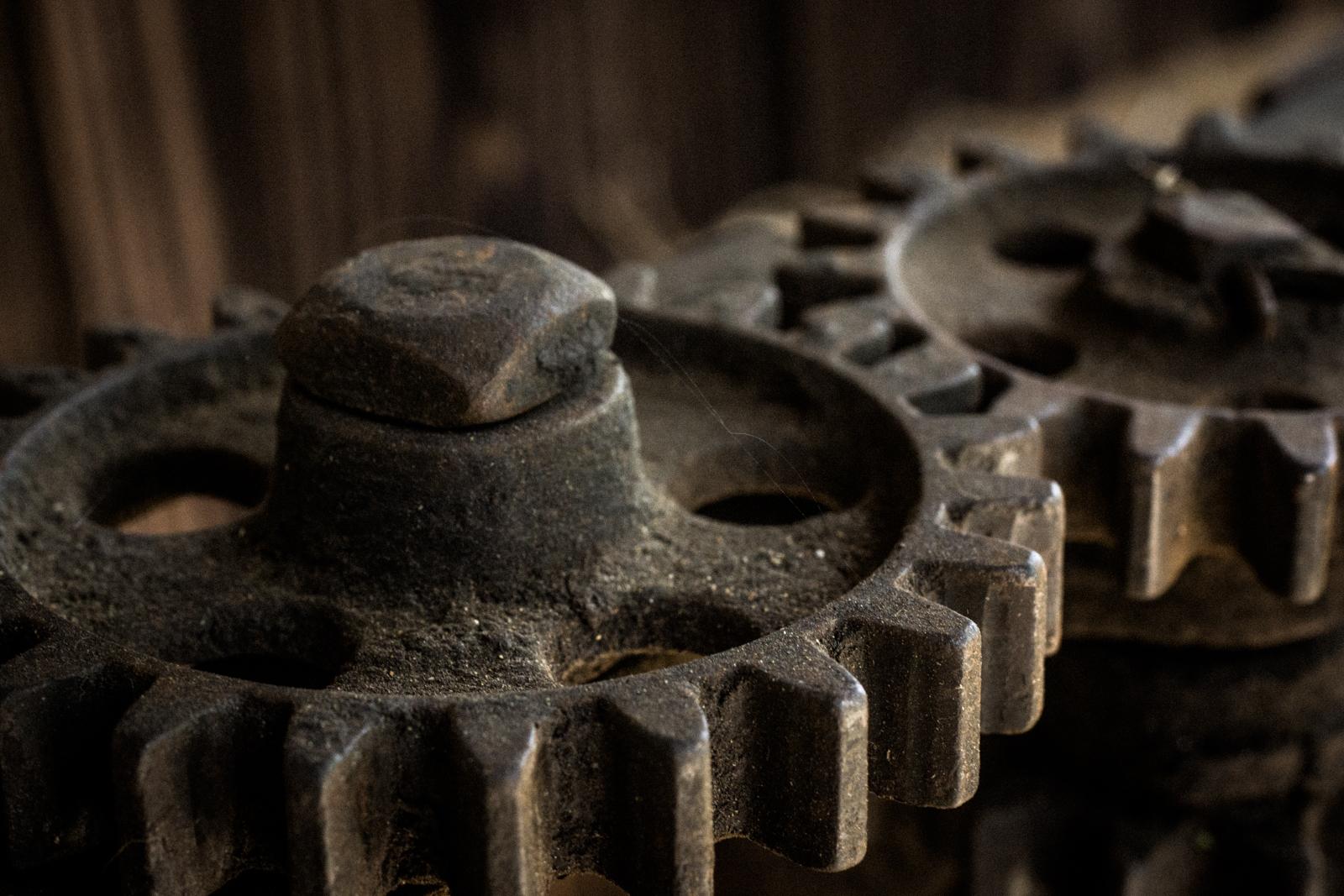 歯車の写真