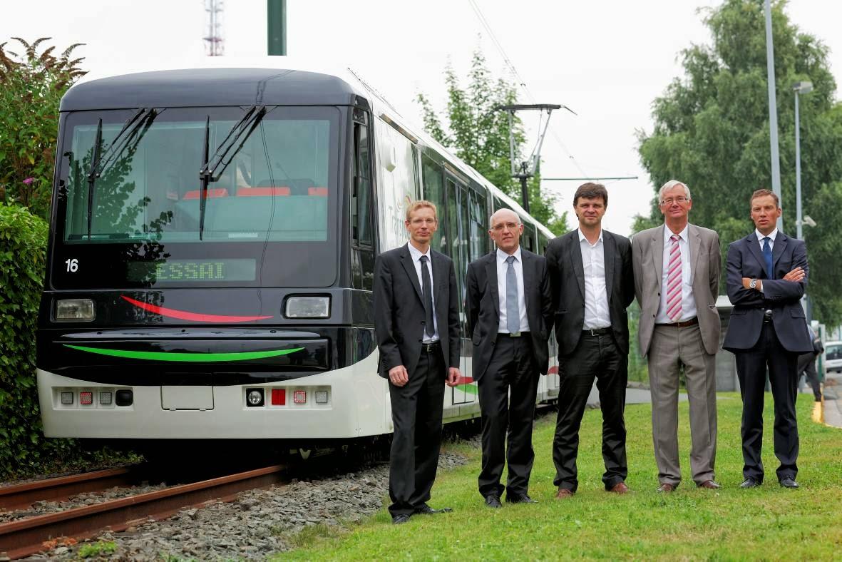 bienvenue chez bombardier transport inauguration du 1er tramway lillois r nov. Black Bedroom Furniture Sets. Home Design Ideas
