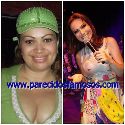 Brasileña Solange Almeida Famosos antes y después