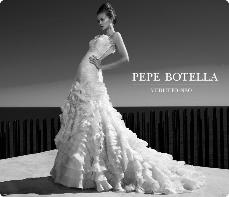 The wedding blog designer pepe botella for Spanish wedding dress designers