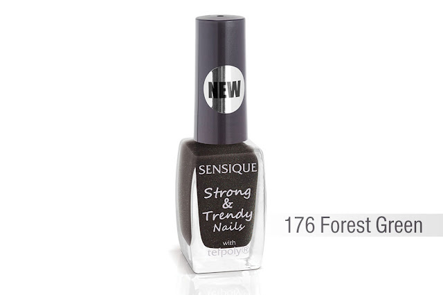 Sensique, Strong & Trendy Nails, 176 Forest Green
