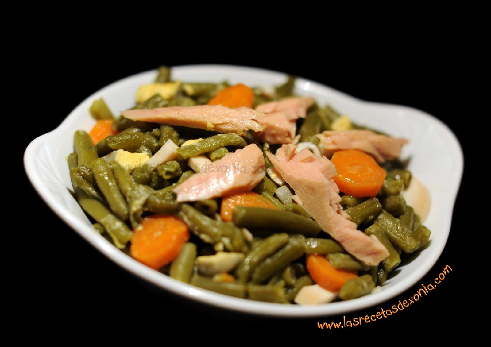 Las recetas de xonia para dukan ensalada de judias - Como preparar las judias verdes ...