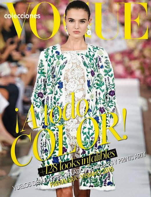 Fashion Model: Blanca Padilla - Vogue Supplement Mexico March 2015