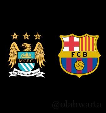 Prediksi Manchester City vs Barcelona