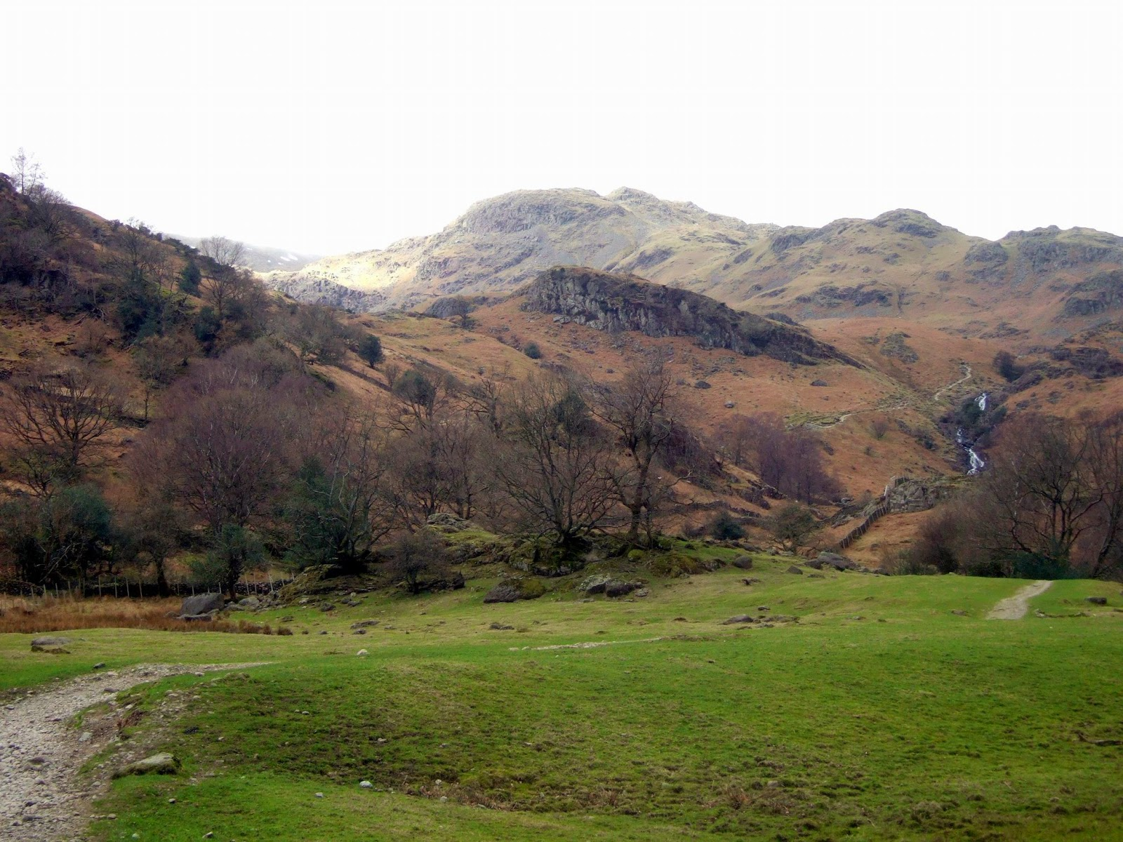 Path from Grasmere to Easedale Tarn