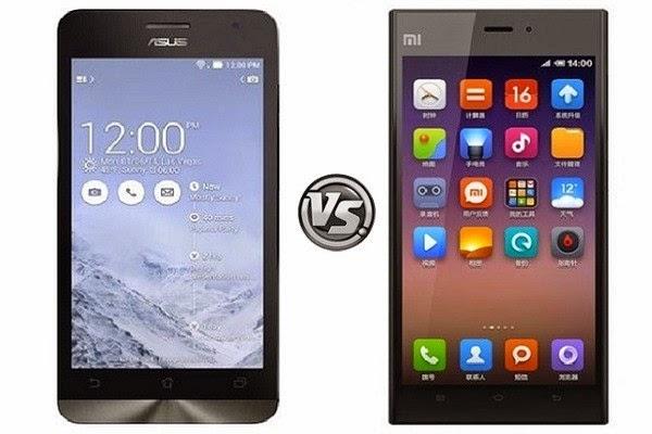 Asus Zenfone 5 vs Xiaomi Mi3
