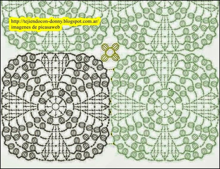 Punto Para Colchas A Crochet Cuadros | apexwallpapers.com