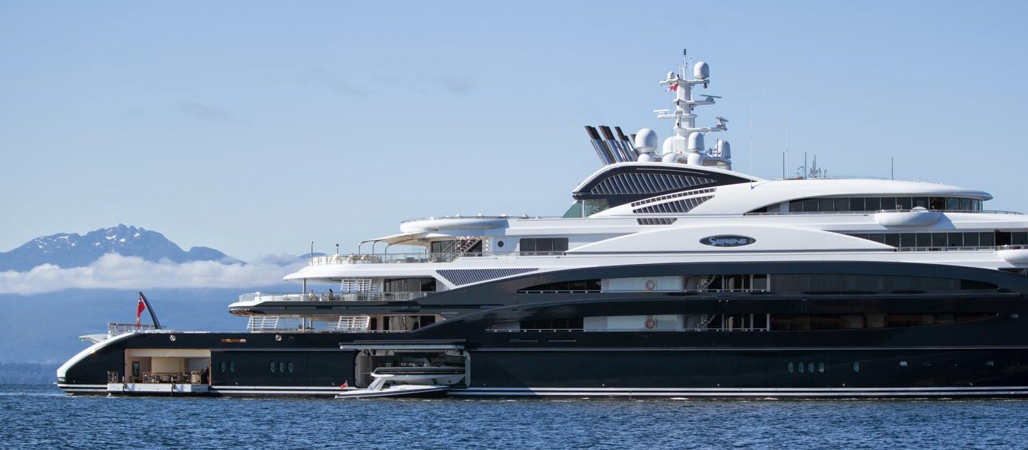 SERENE Yacht Photos - 134m Luxury Motor Yacht for Charter
