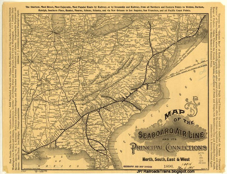 amtrak route map usa with Seaboard Air Line Railway System Track on Lake Shore Limited in addition Across The Usa By Train For Just 213 besides 2014 New York Subway Map further Connecticut Railway Map also File WilliamsDepot WilliamsAZ.