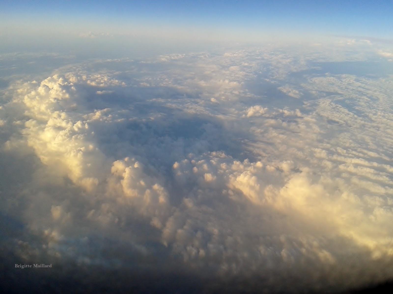 Du ciel au dessus des nuages