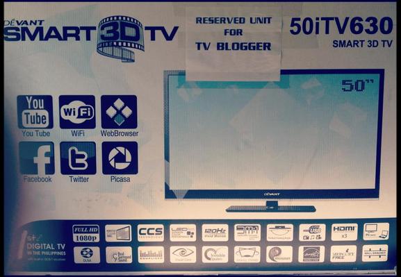 devant smart 3d tv, devant 50itv630