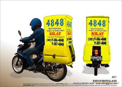 Box Motor Delivery_Fiberglass Profesional