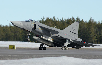 Sjt fighter Saab 37 Viggen