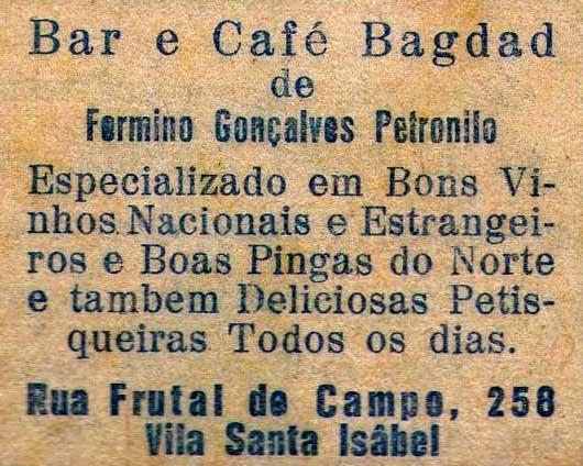 Vila Santa Isabel, Zona Leste de São Paulo, história de São Paulo, bares de São Paulo, Vila Formosa, Vila Carrão