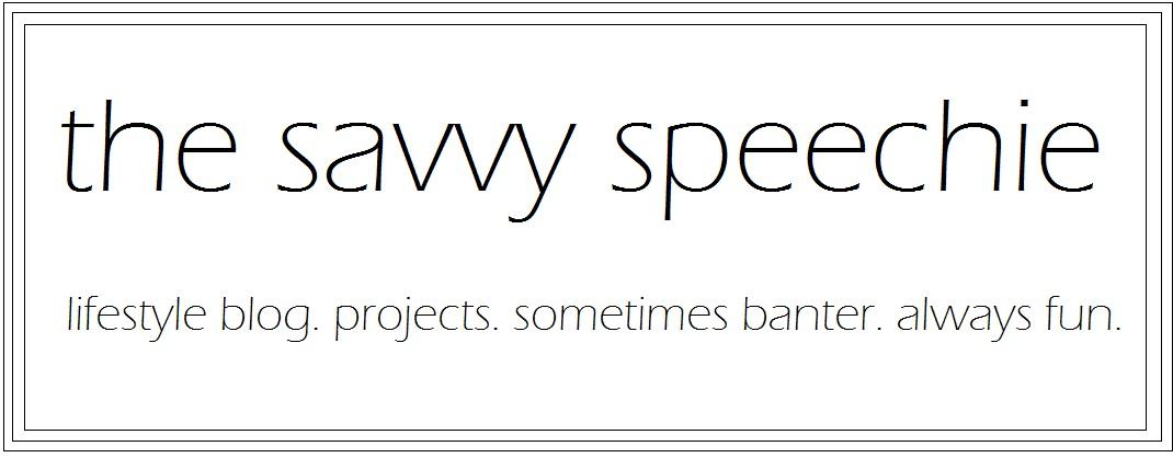 The Savvy Speechie...