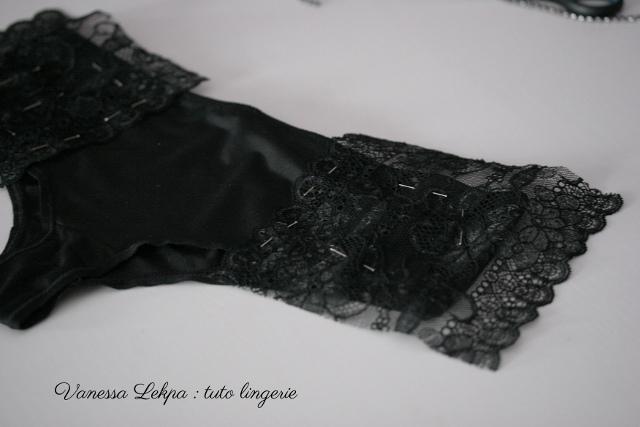 Vanessa Lekpa : blog , customisation de lingerie et tuto couture