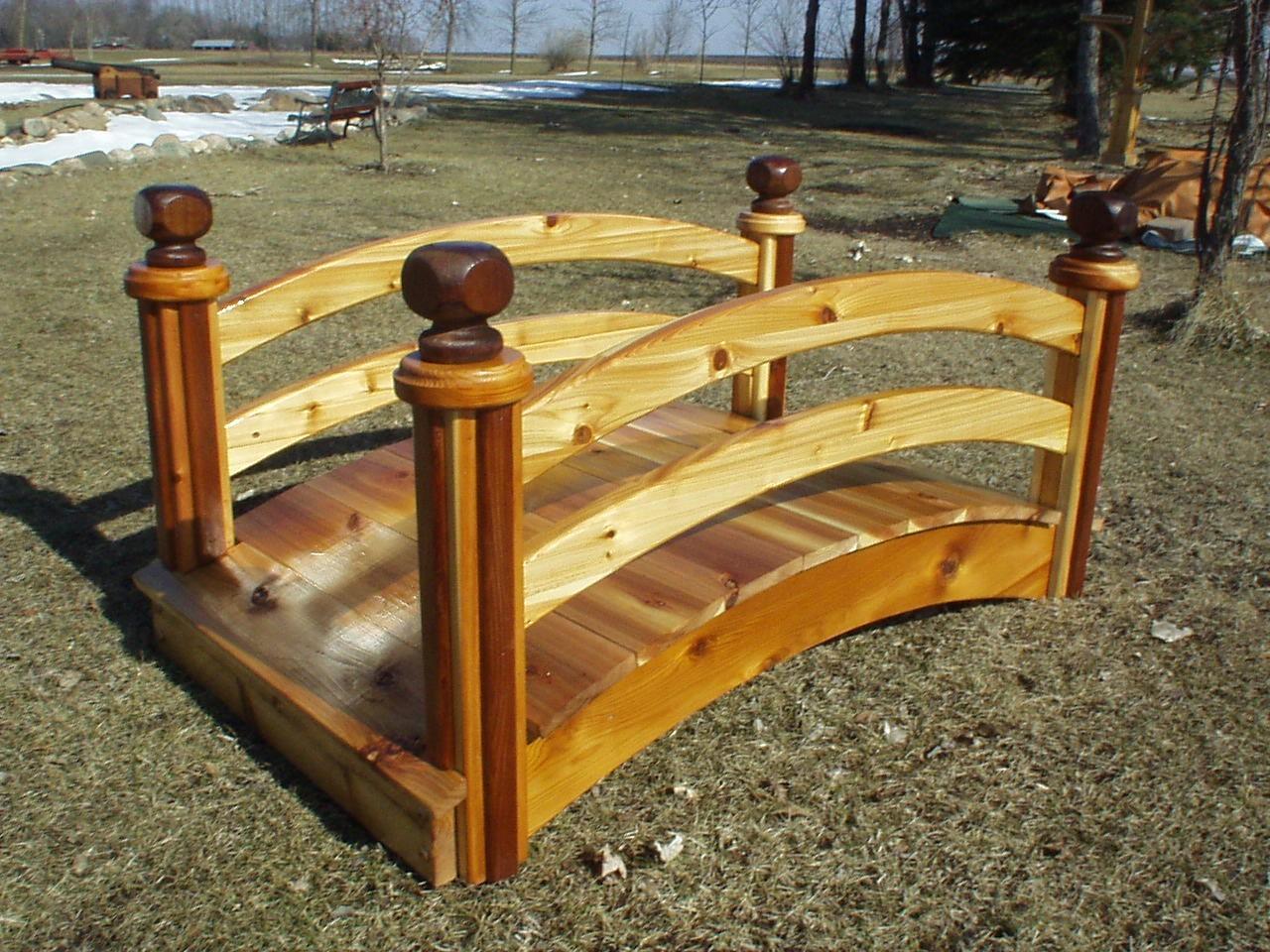 We Have 22 Different Designes Of Elegant Wooden Garden And Pond Bridges To  Choose From. We Also Provide Landscape Garden Bridge Plans, Repair Bridges  And ...