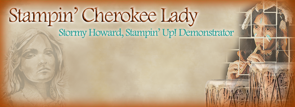 Stampin' Cherokee Lady