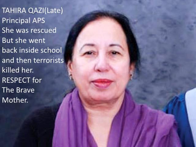 APS-principal-Tahira-Qazi-Peshawar-Attack