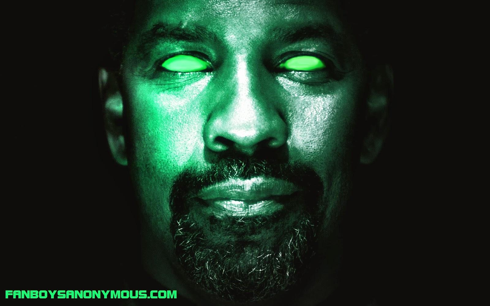 Book of Eli actor Denzel Washington mah nigga meme Green Lantern