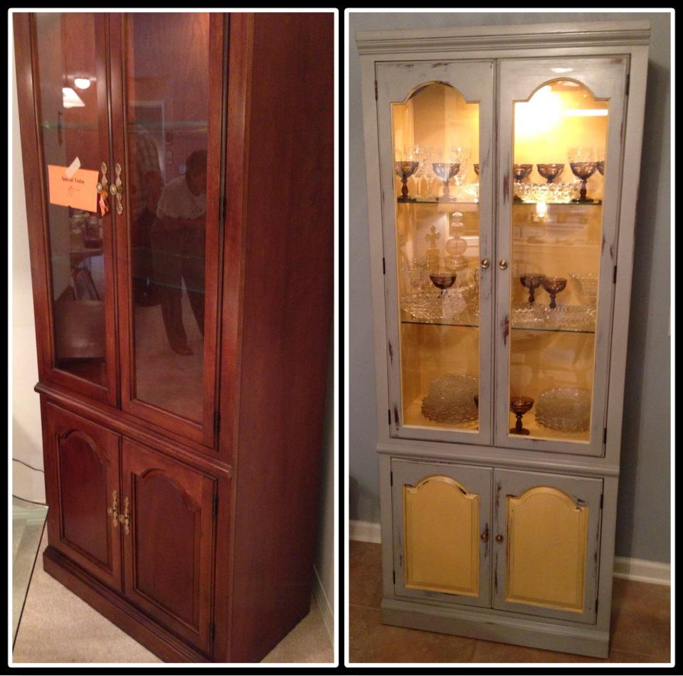 ... May Miss A Beautiful China Cabinet. PS: My Sister Gifted Me 4 Beautiful  Knobs For Christmas, But I Have To Solder Them, Iu0027ll Post That Another Day.
